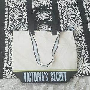 Victoria's Secret tote bag with removable cooler!